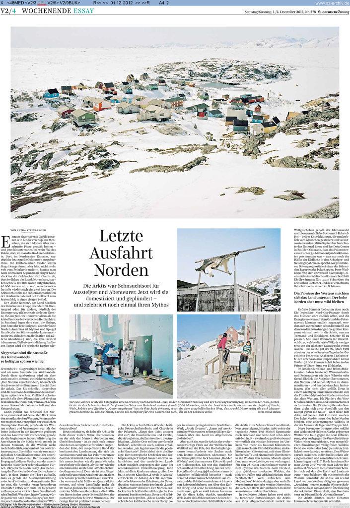 Süddeutsche Zeitung 01/02.12.12